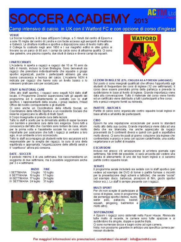ACTM_UK_SOCCER_ACADEMY_2013_ITA_description